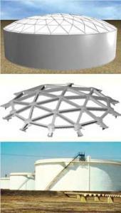 НМТ Алюминиевая геодезическая куполообразная крыша.