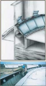 НМТ WIPER Вторичный затвор для сварных резервуаров